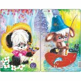 Set 2 Puzzle-uri Animale Simpatice